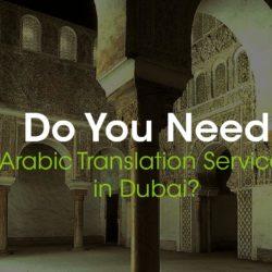 Arabic Translation Services in Dubai