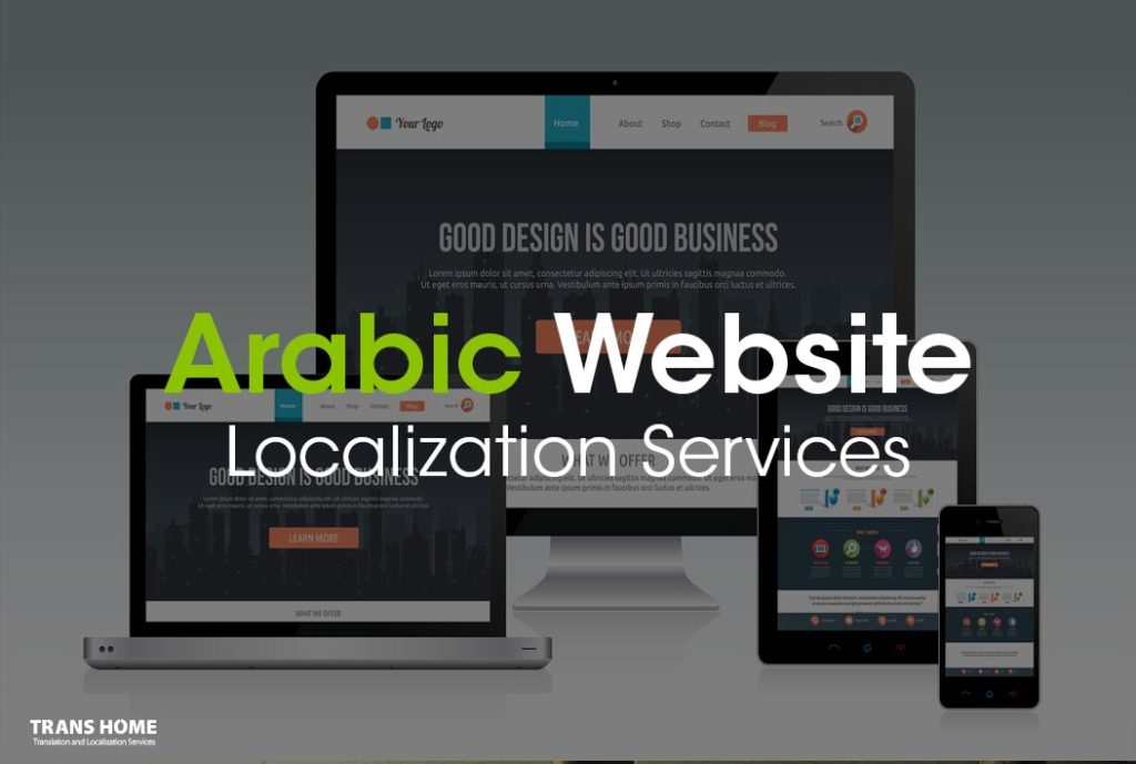 Arabic Website Localization Services