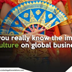 Culture and Global Business: The Felt Impact of Culture on Global Business